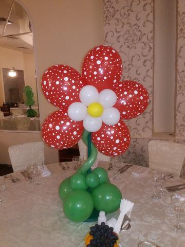 aranjament masa floare